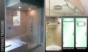 custom shower glass shower doors luxury bathroom shower