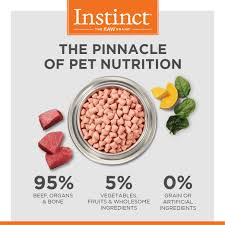 instinct raw frozen bites all natural beef recipe instinct pet food