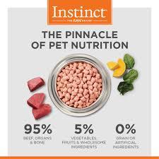 instinct raw frozen bites all natural beef recipe instinct pet food