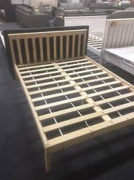 new natural pine wood wooden bed frame s d q child timber