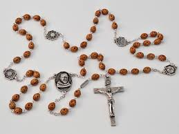 rosaries for sale st pio of pietrelcina silver plated rosary ghirelli rosaries