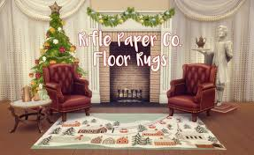 Christmas Rug Baking Up Sweet Cc Treats Rifle Paper Co Floor Rugs Happy