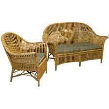 Wicker Patio Chair by Vintage 1940s Rattan Stick Wicker Patio Furniture At 1stdibs