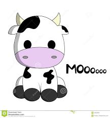 cute cow cartoon stock photo image 28626930