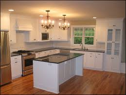 painting kitchen island painting cabinets white with white appliances in clever black