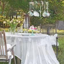 bougie jardin jardins et terrasses jardin table bois cire blanc bougie deco