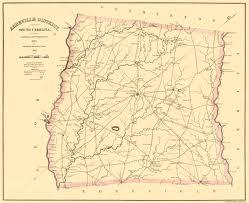 Yellow River Map Old County Map Abbeville South Carolina Landowner 1825
