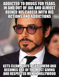 Robert Downey Jr Meme - success guy robert downey jr