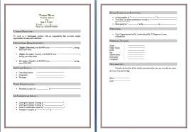 microsoft word 2010 resume template free resume templates for word 2010 vasgroup co