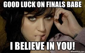 Good Luck On Finals Meme - good luck studying meme mne vse pohuj