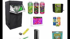 Greenhouse Starter Kits Mini Greenhouse U0026 Indoor Cannabis Grow Kit Setup Youtube