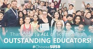 outstanding educators fall 2017 scottsdale unified