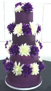 chocolate wedding cake with purple flowers kecoach sharing white
