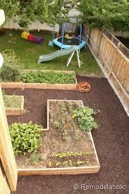 remodelaholic custom raised garden boxes