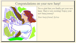 e card sylvia woods harp center free harp e cards