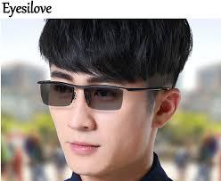 glasses for eyes sensitive to light eyesilove ultra light myopia photochromic glasses titanium myopia