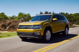 atlas volkswagen black 2018 volkswagen atlas named top safety pick by iihs motor trend