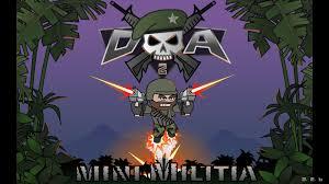 mini militia mod unlimited health flying power ammo pro pack