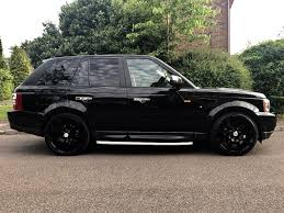 black land rover with black rims range rover sport 2 7 diesel full history 22