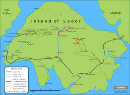 St Thomas Island Map Sodor Fictional Island Wikipedia