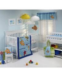 Nemo Bedding Set Winter Bargains On Disney Nemo Wavy Days 4 Crib Bedding