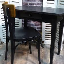 petit bureau noir patiné lignedebrocante brocante en ligne chine