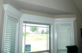 Curtain Crown Molding Window Crown Molding Amazing Interior Window Trim With Curtains
