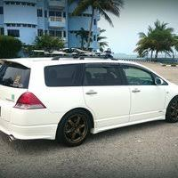 honda odyssey roof rails honda odyssey rb1 absolute with thule roof rack by egodyssey1