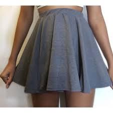 light blue skater skirt cotton on dresses skirts gray skater skirt poshmark