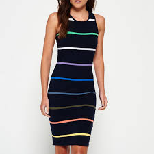 2017 oem western dresses names striped dress sleeveless dresses