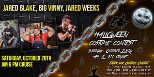 free halloween slots jared blake big vinny and jared weeks and halloween contest