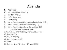 staff meeting agenda discussion oriented meeting agenda example 9