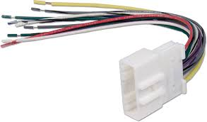 metra 70 7552 receiver wiring harness connect a new car stereo in
