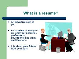 Job Qualifications Resume by Resume Workshop