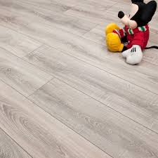 Grey Laminate Floor Flooring Sydney Grey Oak 7mmaminate Flooring V Groove 48m2 P1025