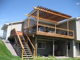 deck pergola by shay lumberjocks com woodworking community