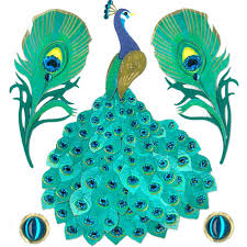 jolee s boutique stickers peacock