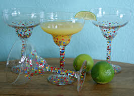 martini glass painting diy painted margarita glasses u2013 serendipity by sara lynn