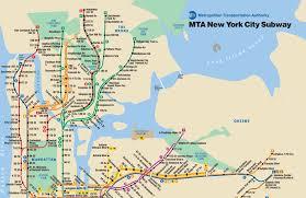 map of new york ny new york city subway map new york ny mappery
