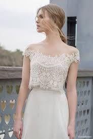 wedding tops limor bridal 2015 diana two wedding dress crop lace