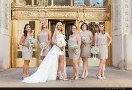 Wedding Photographers Chicago Wrigley Building Chicago Wedding Photography Gold Wedding Trend