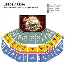 leeds arena floor plan strictly come dancing 10th anniversary tour leeds tickets