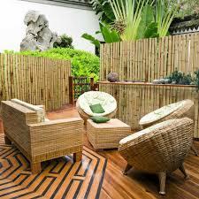 balkon sichtschutz kunststoff details sichtschutz welt zu aty nature bambus gartenzaun