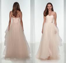 dh com wedding dresses 2015 light pink tulle wedding dresses