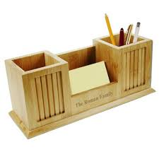 Yellow Desk Organizer Personalized Desk Accessories