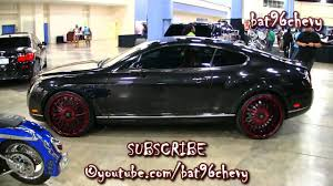 matte red bentley black red bentley continental gt coupe on 22