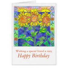 happy birthday friend greeting cards zazzle