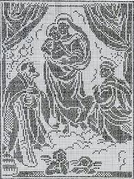 imagenes religiosas a crochet 358 best crochet sacro images on pinterest altars crochet edgings