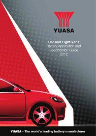 lexus gs 450h allegro yuasa baterías turismo y furgonetas aplicaciones by motor diper