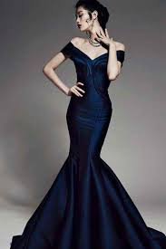 midnight blue evening dresses uk boutique prom dresses